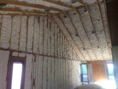 New foam insulation